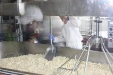 Fabricação do queijo Beecher's